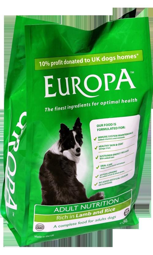 Europa   Grain Free Dog Food