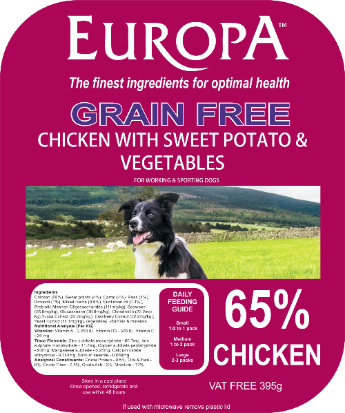 Europa Grain Free Dog Food