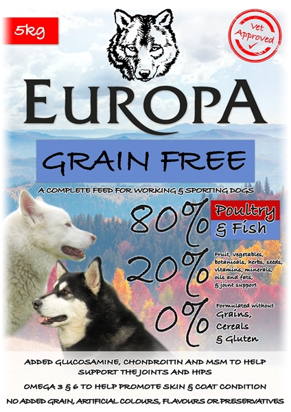 Picture of 80/20 Grain Free Poultry & Fish 10kg