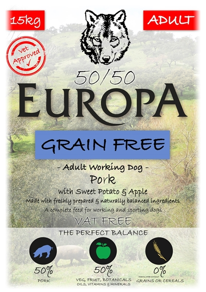 Picture of Europa Pork 50/50 with Sweet Potato and Apple 15kg